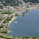 Barrie Aerial Shot