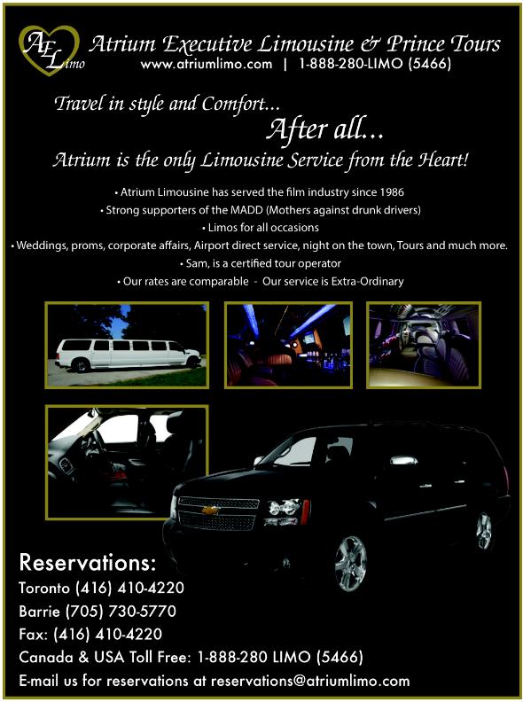 49eebd0963e Atrium Executive Limousine   Prince Tours – Photo Gallery